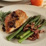 Chicken Breast with orange raisin sauce