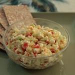 Feta and cucumber spicy dip| mjskitchen.com