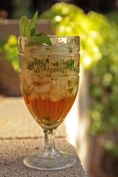 Goblet with a Mint Julep
