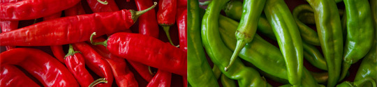New Mexico Red and Green Chiles @MJsKitchen