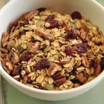 Cranberry and Pecan Granola