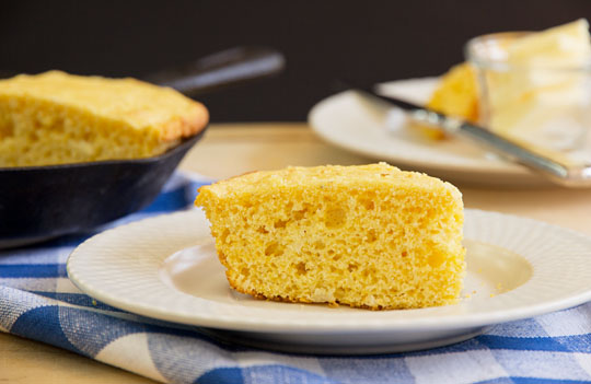 Never fail Buttermilk Cornbread. #cornbread #recipe @MJsKitchen mjskitchen.com