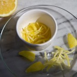 Lemon peel becomes preserved lemons overnight