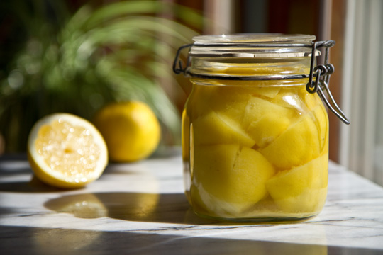 Preserved lemons - not just for Moroccan food. How to make and use preserved lemons. @mjskitchen mjskitchen.com