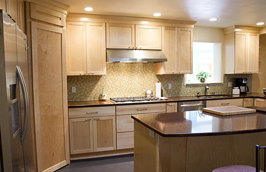 a kitchen remodel of mj's kitchen - before & after