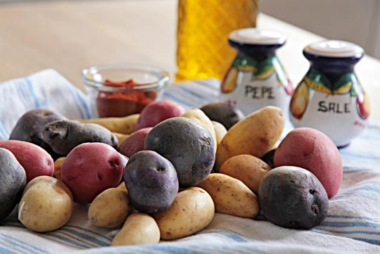 Organic Fingerling Potatoes | mjskitchen.com