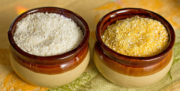 Comparison of grits and polenta