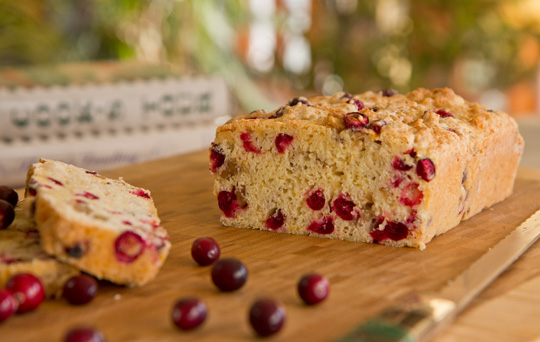 Cranberry Bread - Tried and True