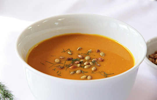 Kabocah Squash and Fennel soup