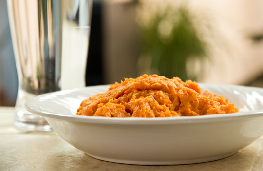 Mashed Sweet Potatoes with Brown Butter. #recipe @MJsKitchen