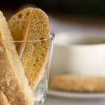Lavender-scented Pinon Biscotti