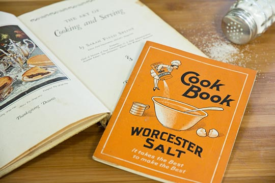 Cookbooks form the 1930's
