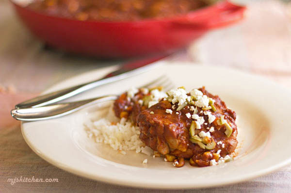 Braised Red Chile Chicken