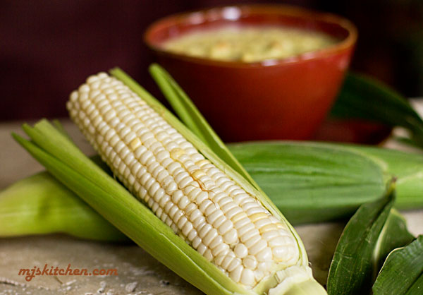 New Mexico Sweet white corn