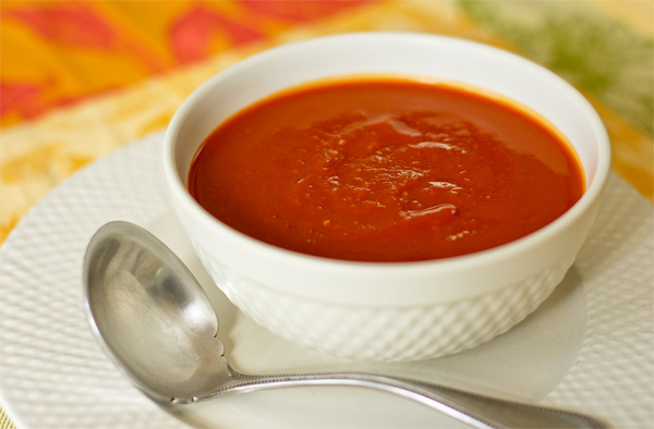 This red chile pumpkin sauce can be used for enchiladas, tacos, burritos, or for whatever your heart desires.