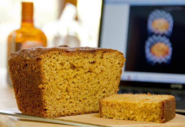 Quick bread with orange marmalade and Cointreau