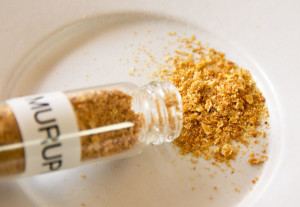 Vials of chile powder from fordsfieryfoodsandplants.com mjskitchen.com
