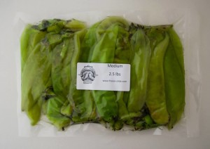 Big Jim Medium green chiles from The Hatch Chile Store mjskitchen.com