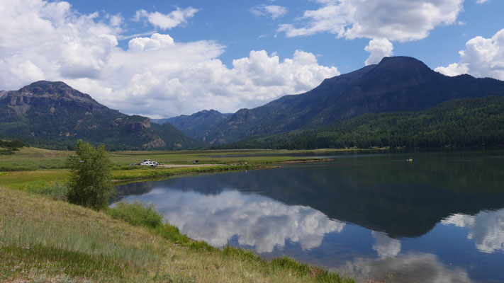 Williams Creek Reservoir - Colorado