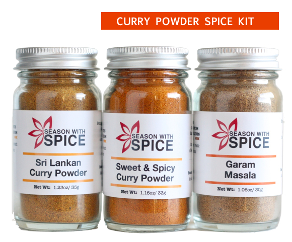 Curry Blends from seasonwithspice.com