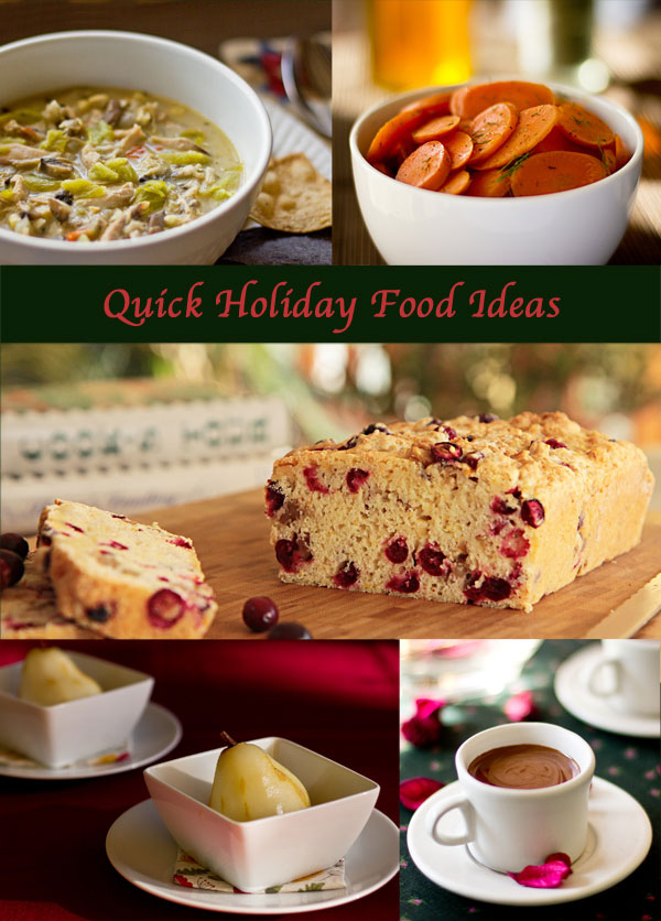 Quick and easy food ideas for the busy holiday | mjskitchen.com