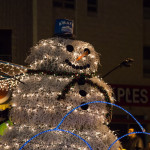 Tumbleweed Snowman Twinkle Light Parade Albuquerque 2013