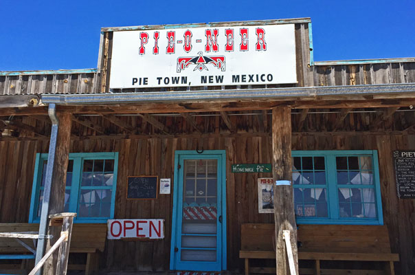 Pie-O-Neer Cafe in Pie Town, New Mexico | mjskitchen.com