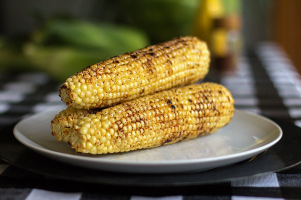Grilled Red Chile Corn