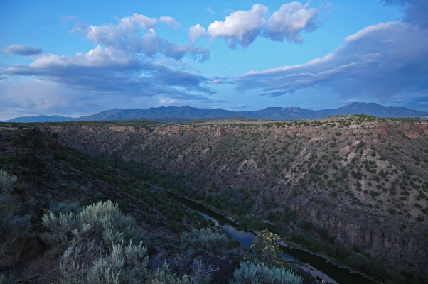 The Rio Grande in northern New Mexico | mjskitchen.com