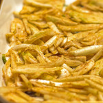 Fennel seasoned with olive oil and a red chile blend | mjskitchen