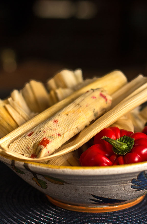 Red Chile and Cheese Tamales #tamales #red #chile @mjskitchen