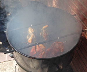 Smoking chicken in a Pit Barrel Cooker | mjskitchen.com