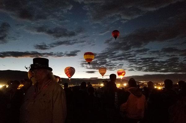Dawn patrol at the Albuquerque International Balloon Fiesta 2016 | mjskitchen.com