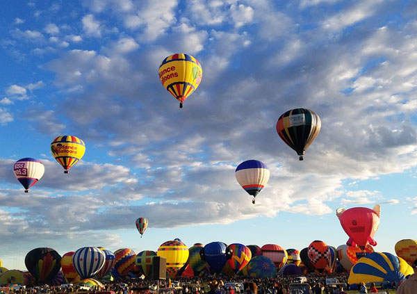 Pictures from the Albuquerque International Balloon Fiesta 2016 | mjskitchen.com