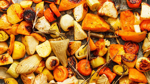 Grilled Root Vegetables = One of 5 ideas for grilling during the holidays | mjskitchen.com