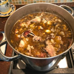 An easy method of making turkey/chicken stock with minimal effort and very little waste @mjskitchen