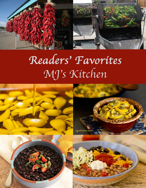 Readers' Favorites Recipes from MJ's Kitchen #chile #recipes @mjskitchen