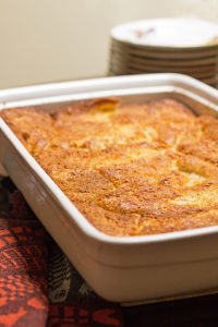 A traditional southern peach cobbler - quick & easy & delicious #peach #cobbler @mjskitchen