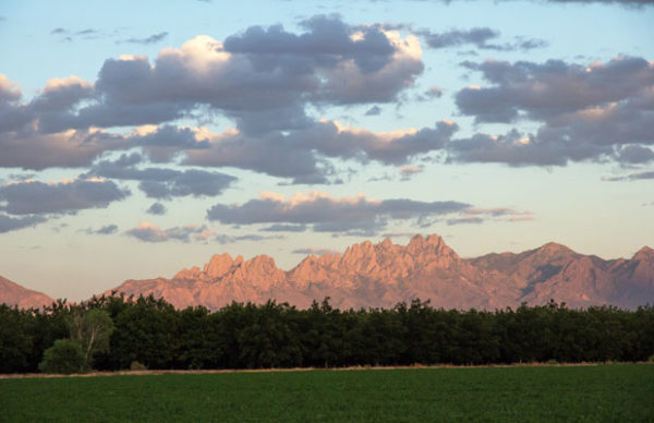 Sunset on the Organ Mountains in Las Cruces, New Mexico | mjskitchen.com